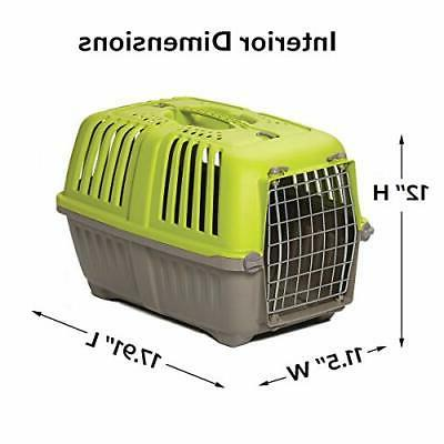 Pet Puppy Carrier Travel Small Green 19 Inch