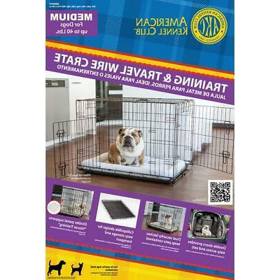 Pet Dog Medium Wire Collapsible 36 24 x 26