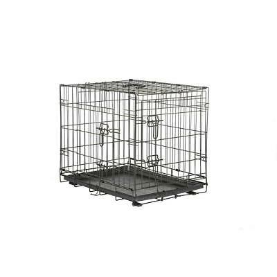 pet dog crate medium wire collapsible 36