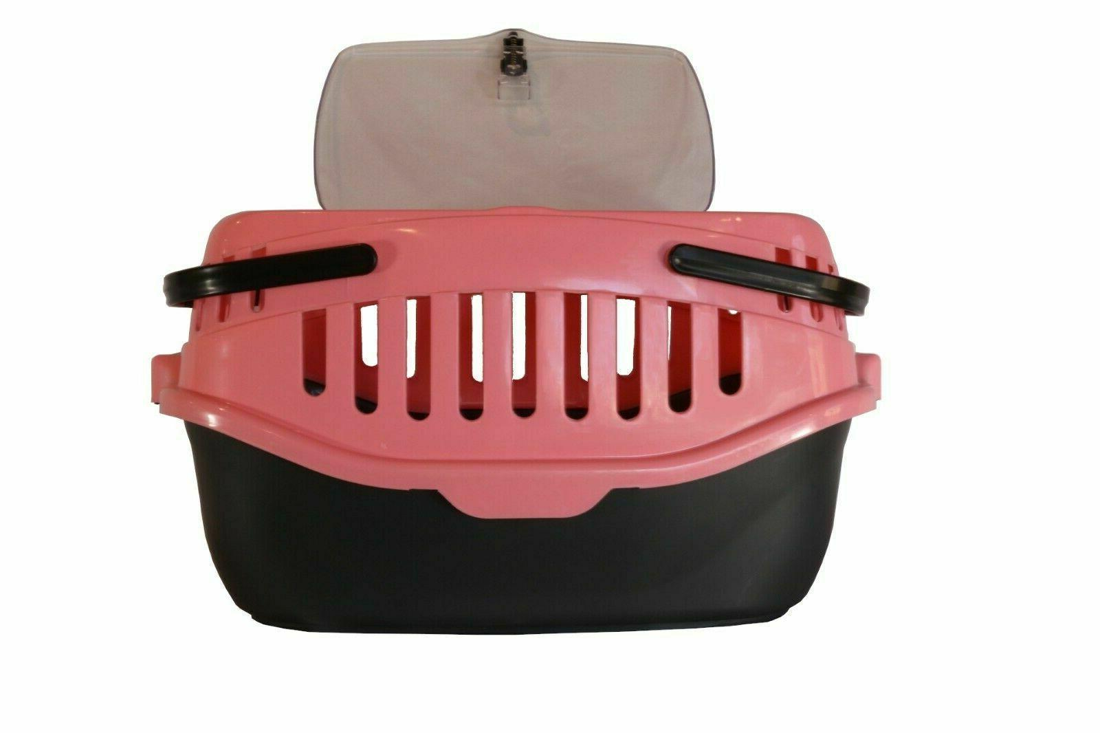 portable small animal carrier crate dog cat