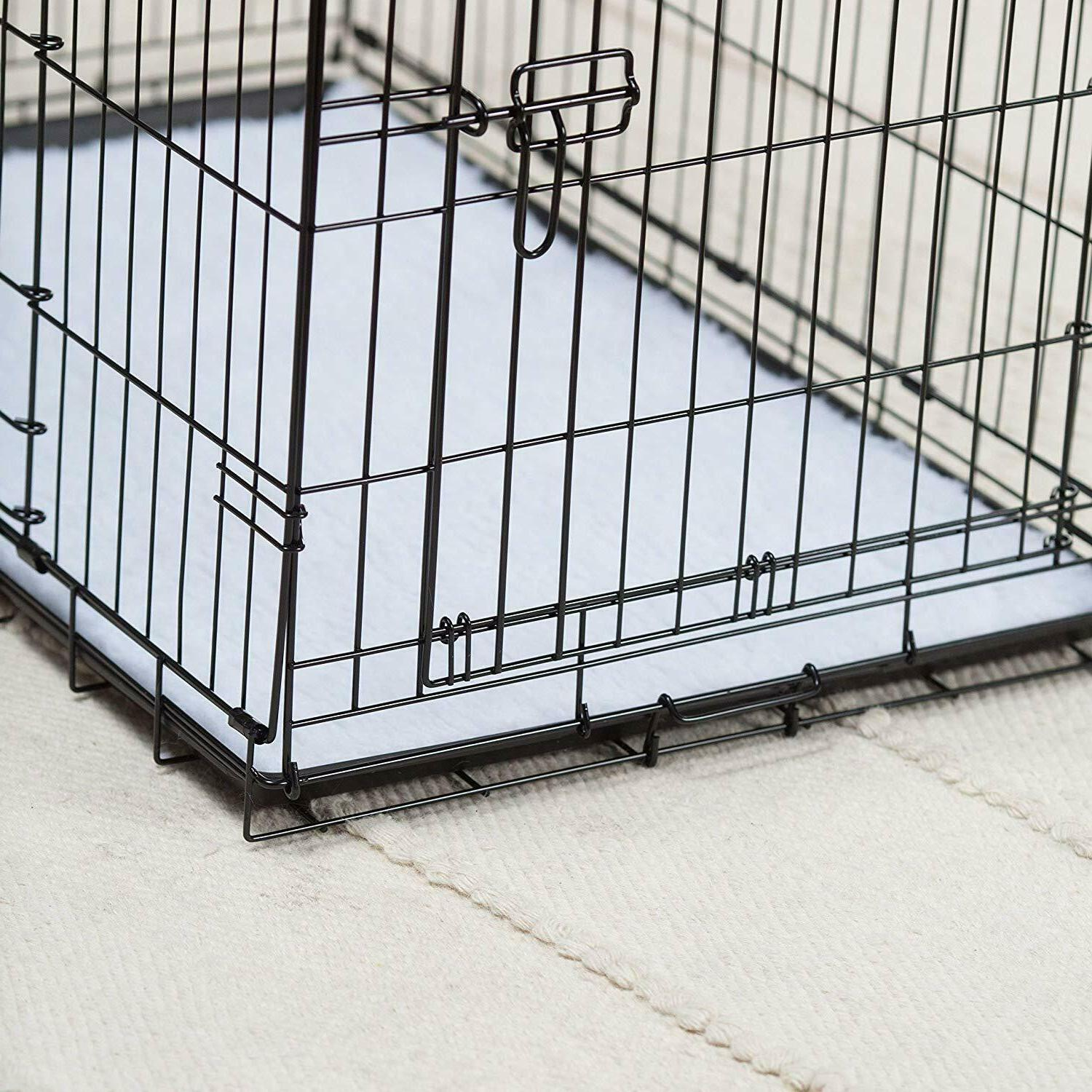 """Precision Pet by """"ProValu"""" Two Door Wire Dog Crate with Precision Lock"""