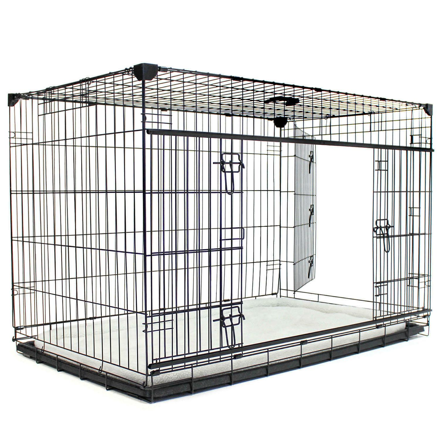Lucky Sliding Door Dog Removable Tray