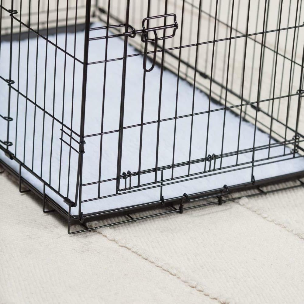 two door wire dog crate precision lock