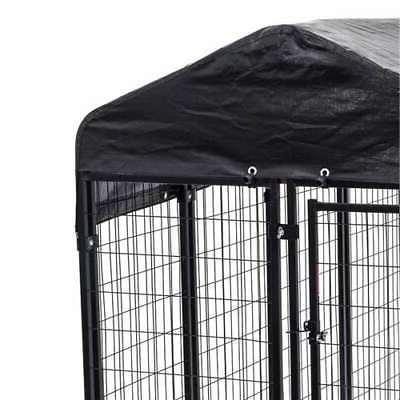 Lucky Uptown Large Covered Kennel Duty Pet Cage Fence