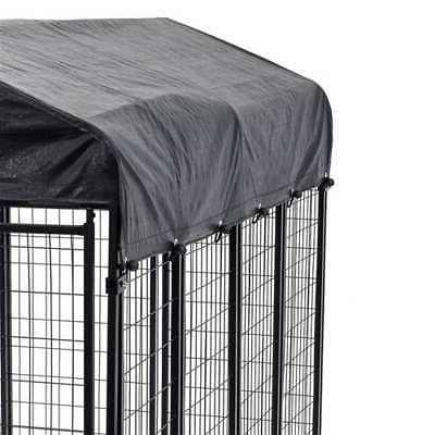 Covered Heavy Duty Pet Cage Fence