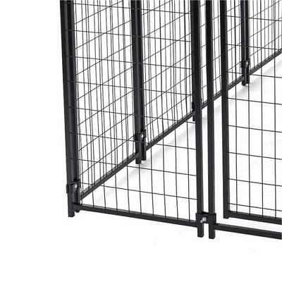 Lucky Dog Uptown Covered Kennel Heavy Pet Cage