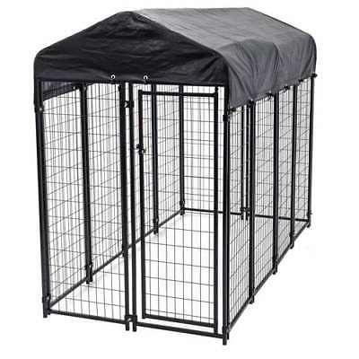 uptown large covered kennel heavy duty pet