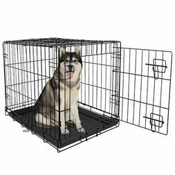Large Dog Crate XXL Kennel Extra Huge Folding Pet Wire Cage