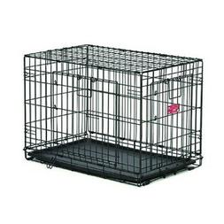 Mid West Life Stages A.c.e. 24 Inch Double Door Dog Crate. *