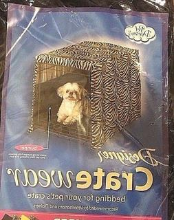 NEW Pet Dreams Beige Dog Crate/Kennel wall Padding Bumper Si
