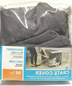 You and Me Crate Kennel Cover for Dog or Cats Size Medium Da