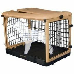 Pet Gear The Other Door Steel Crate W/ Black Mat And Carry B
