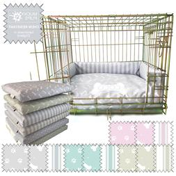 Personalised Dog Bed Chew Resistant Waterproof Puppy crate C