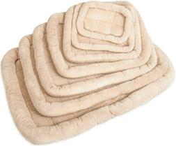 """OxGord 42"""" by 27"""" Bolster Dog Crate Bedding Pad with Slumber"""