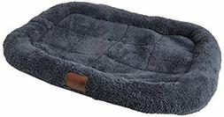 Pet Dog Kennel Club Crate Mat Bed Deluxe Ultra Plush Pillow