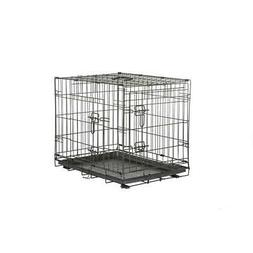 Pet Dog Crate Medium Wire Collapsible 36 x 24 x 26 Travel Tr