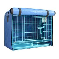 Pet Dog Puppy Cage Collapsible Cover Crate Kennel Cat Rabbit