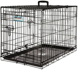 Petmate 'ProValu' Wire Dog Crate, Two Doors, Precision Lock