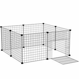 Portable Pet Play Fence Cage Kennel Crate for Small Dogs, An