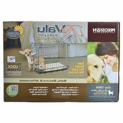 "Petmate ""ProValu"" Wire Dog Crate, Two Doors, Precision Lock"