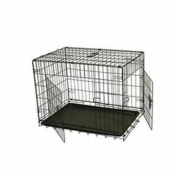 ALEKO SDC-2D-24B Folding Suitcase Dog Cat Crate Cage Kennel