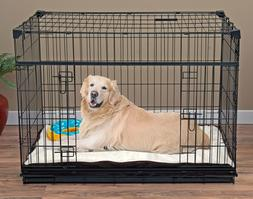 """Lucky Dog Sliding Double Door Dog Crate, L, 42""""H"""