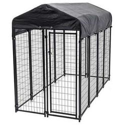 Lucky Dog Uptown Large Covered Kennel Heavy Duty Pet Cage Fe