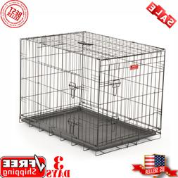 Lucky Dog™ Wire Travel & Training 2 Door Pet Crate Extra L