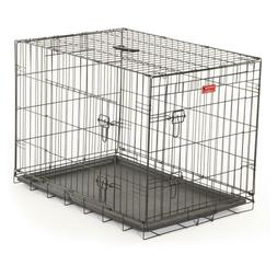 Lucky Dog Wire Travel & Training 2 Door Small Dog Pet Crate