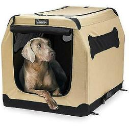 XL Portable Dog Pet Cat Crate Kennel Soft Fabric Travel Coll